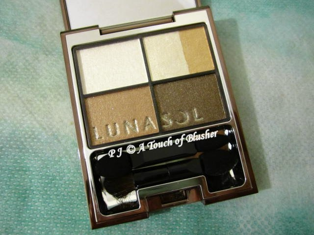 Kanebo Lunasol Vivid Clear Eyes 04 Khaki Beige Collection Spring 2013 Makeup 1