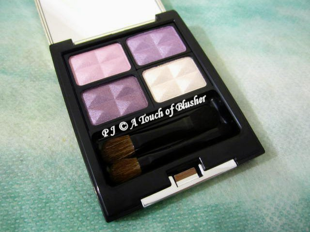 Kesalan Patharan Moisturizing Eyecolor E01 Elegant Violet Holiday 2012 Makeup 1