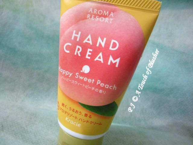 Kracie Aroma Resort Hand Cream Happy Sweet Peach Summer 2014 Bodycare Handcare 1