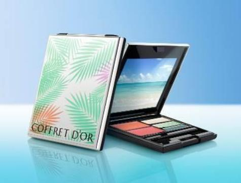 Kanebo Coffret d'Or Summer 2016 Makeup 1