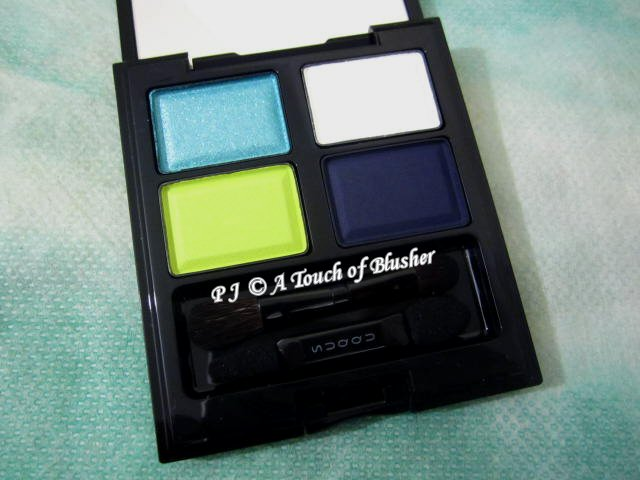 SUQQU Blend Color Eyeshadow EX-30 Hekikai Summer 2016 Makeup 1