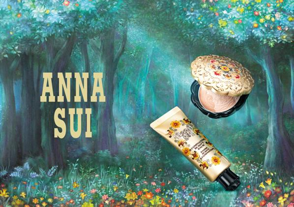 Anna Sui Fall Winter 2016 Base Makeup 1