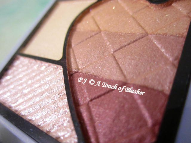 Shiseido Integrate Rainbow Grade Eyes RD715 Summer 2014 Makeup 2