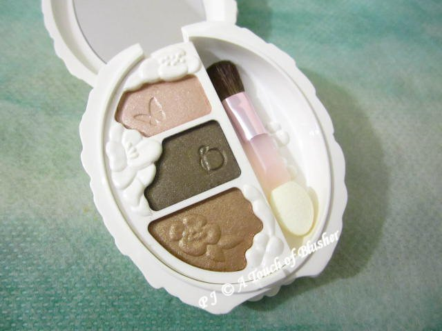 Shiseido Benefique Theoty Eyecolor Palette Aurora Pearl BE02 Fall 2014 Makeup 1