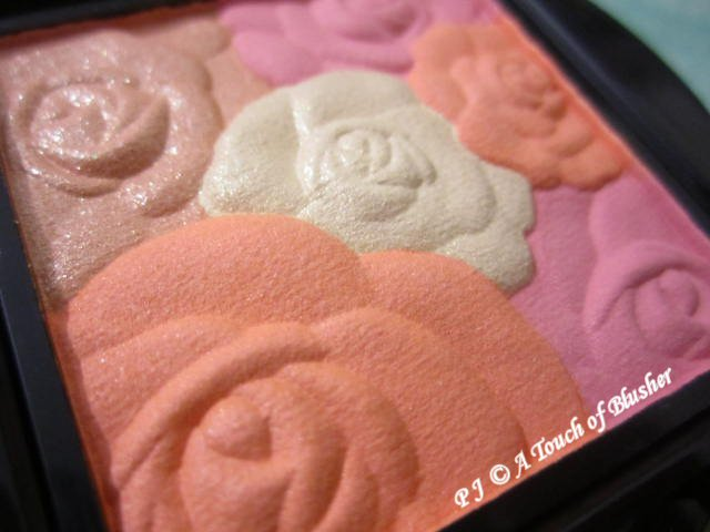 Anna Sui Rose Cheek Color 601 Spring 2014 Makeup 2
