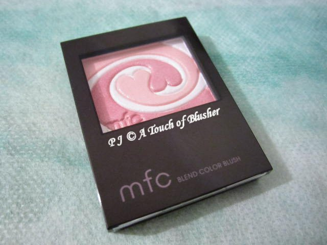 Kanebo MFC Blend Color Blush PK-1 Pure Pink Holiday 2013 Makeup 1