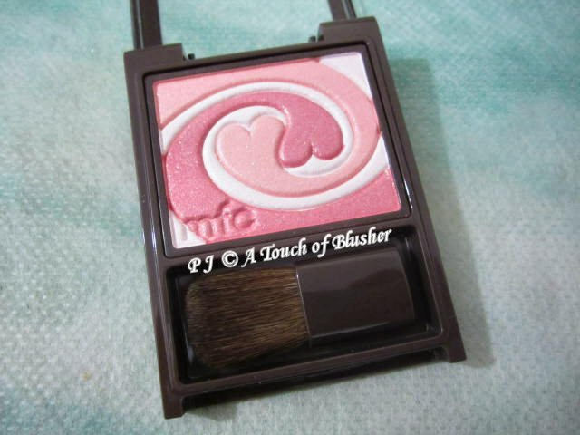 Kanebo MFC Blend Color Blush PK 1 Pure Pink Holiday 2013 Makeup 2