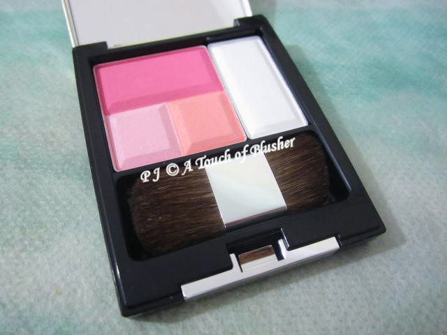 Kesalan Patharan Cheek Color C01 Cute Pink Summer 2013 Makeup 1