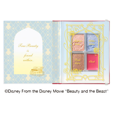 Shiseido Integrate Beauty and the Beast Spring Summer 2017 Makeup 1