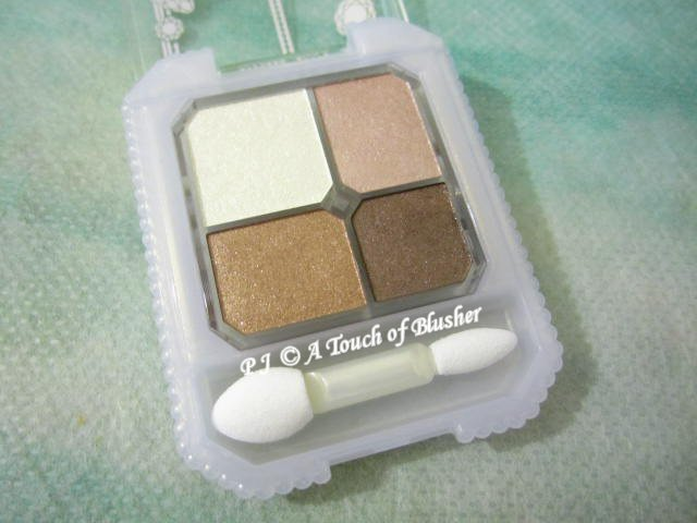 Shiseido Majolica Majorca Jeweling Eyes BR792 Fall 2010 Makeup 1