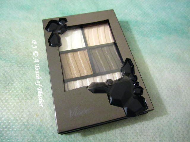 Kose Visee Shimmer Rich Eyes BE-1 Fall 2015 Makeup 1