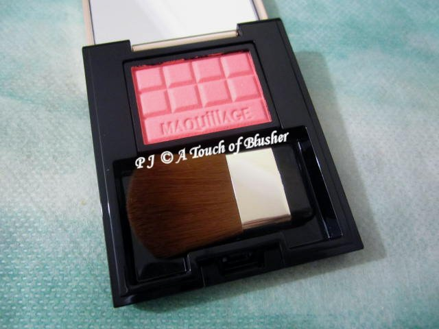 Shiseido Maquillage Cheek Color Clear PK222 Spring 2017 Makeup 1