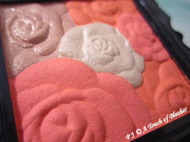 Anna Sui Rose Cheek Color N 602 Summer 2014 Makeup 2