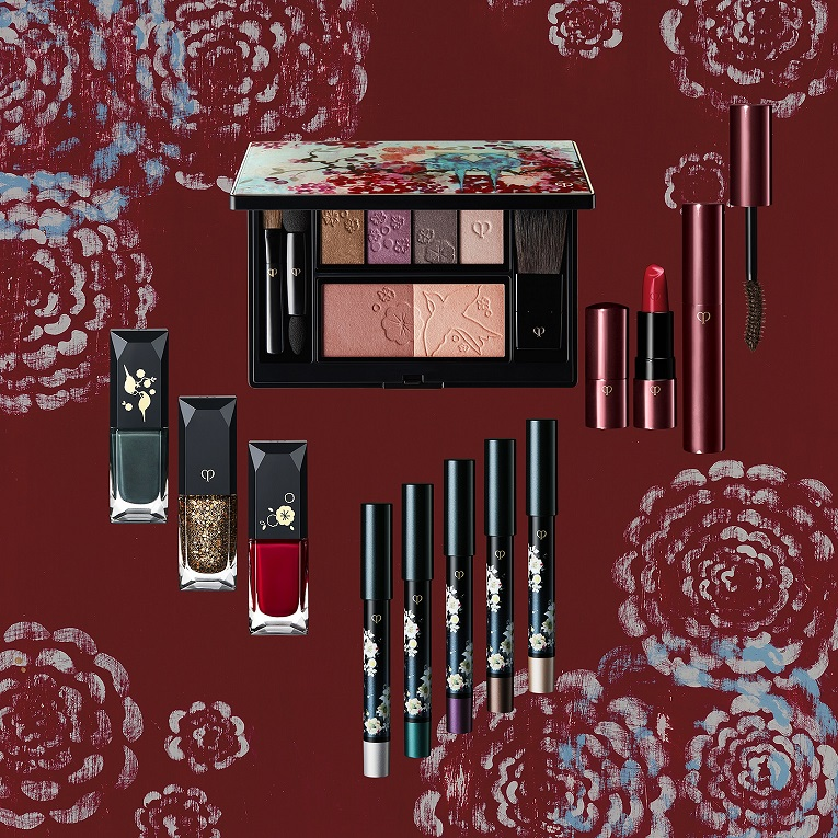 Shiseido Cle de Peau Holiday 2017 Makeup 1