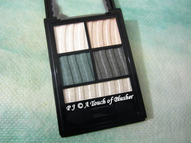 Kose Visee Shimmer Rich Eyes GR-6 Fall 2015 Makeup 1