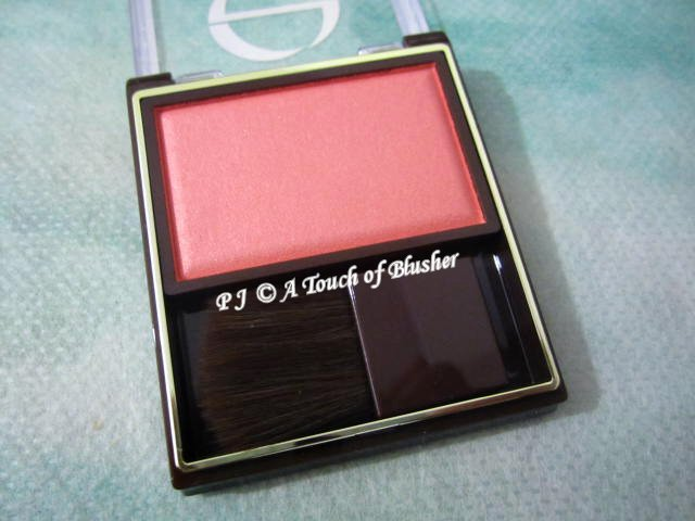 Sana Excel Skinny Rich Cheek RC02 Pure Peach Spring 2016 Makeup 1